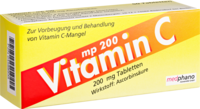 VITAMIN C 200 mg Tabletten